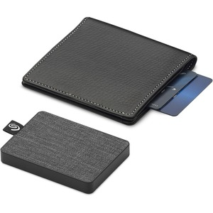 SSD Portable Seagate One Touch STJE1000400 - Externe - 1 To - Noir - Notebook Appareil compatible - USB 3.0 Type B - 400 M