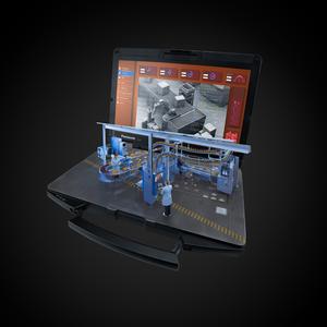 Panasonic Toughbook FZ-55 FZ-55A-006T4 35,6 cm (14 Zoll) Notebook - 1366 x 768 - Intel Core i5 (8th Gen) i5-8365U 1,60 GHz