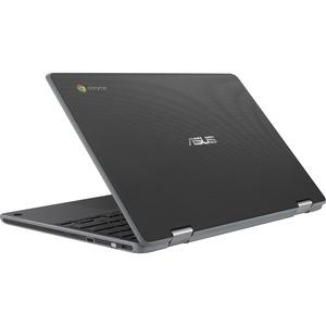 """Asus Chromebook Flip C214 C214MA-BW0283-3Y 29.5 cm (11.6"""") Chromebook - HD - 1366 x 768 - Intel Celeron N4020 - 4 GB RAM -"""