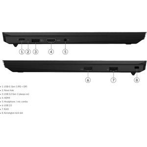"Lenovo ThinkPad E15 G2 20TDS06700 15.6"" Touchscreen Notebook - Full HD - 1920 x 1080 - Intel Core i7 i7-1165G7 Quad-core ("
