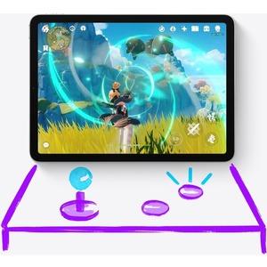 Apple iPad Pro (5th Generation) Tablet - 32,8 cm (12,9 Zoll) - M1 Octa-Core - 8 GB RAM - 128 GB - iPadOS 14 - Silber - App