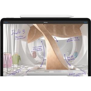 Apple iPad Pro (5th Generation) Tablet - 32,8 cm (12,9 Zoll) - M1 Octa-Core - 8 GB RAM - 256 GB - iPadOS 14 - 5G - Grau -
