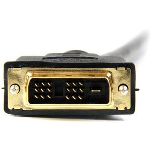 StarTech.com 10m HDMI® auf DVI-D Kabel - HDMI Adapterkabel (Stecker/Stecker) - Erster Anschluss: 1 x HDMI Stecker Digital