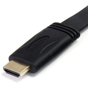 StarTech.com Flaches High-Speed-HDMI-Kabel mit Ethernet 5m - Ultra HD 4k x 2k HDMI Kabel (Stecker/Stecker) - Erster Anschl