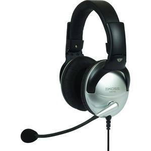 Koss SB45 USB Communication Headsets - Stereo - USB - Wired - 100 Ohm - 18 Hz - 20 kHz - Over-the-head - Binaural - Circum