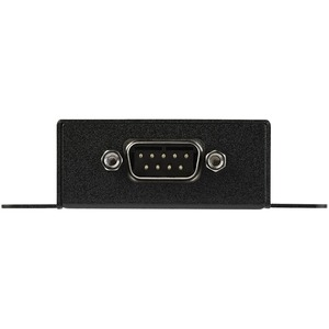 StarTech.com 1 Port RS232 Serial to IP Ethernet Converter / Device Server - Aluminum - 1 x Network (RJ-45) - 1 x Serial Po