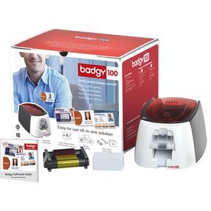 Imprimante Transfert Thermique/Sublimation Evolis Badgy100 un seul côté - Impression de Cartes - Couleur - 300 dpi - 16 Se