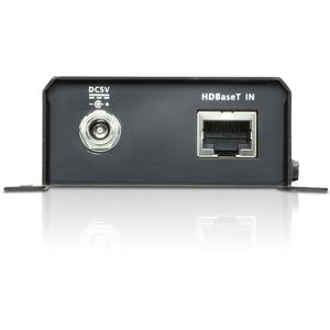 "ATEN HDMI HDBaseT-Lite Receiver (HDBaseT Class B)-TAA Compliant - 1 Output Device - 70.87"" Range - 2 x Network (RJ-45) - 1"