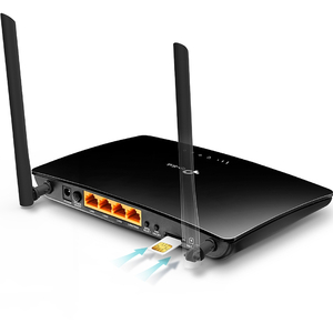 TP-Link TL-MR6400 IEEE 802.11n Ethernet, Mobilfunk Modem/Wireless Router - 4G - LTE 800, LTE 900, LTE 1800, LTE 2100, LTE