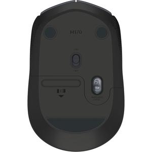 SOURIS SANS FIL M170 GRIS NOIR 2.4GHZ-RECEPTEUR SANS FIL USB IN