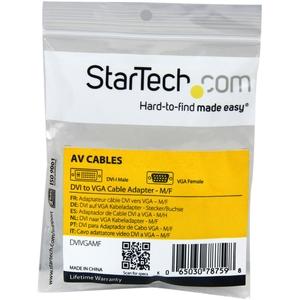 StarTech.com Videoadapter - 1 Paket - 1 x HD-15 Buchse Seriell - 1 x DVI-I Stecker Video - Beige