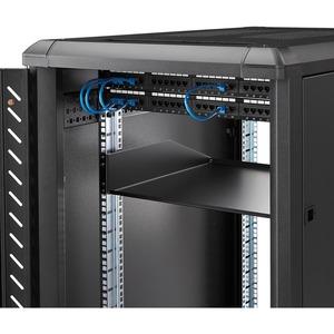 StarTech.com 2U Rackmount Rack-Regal für Server, LAN-Schalter, Patchfeld - 482,60 mm Rack Width x 457,20 mm Rack Depth - S