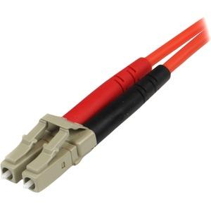 StarTech.com 1 m Glasfaser Netzwerkkabel für Netzwerkgerät - 1 - Erster Anschluss: 2 x LC Stecker Netzwerk - Zweiter Ansch