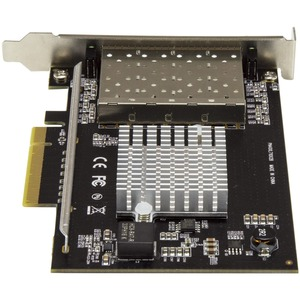 StarTech.com Quad Port 10G SFP+ Network Card - Intel XL710 Open SFP+ Converged Adapter - PCIe 10 Gigabit Fiber Optic Serve