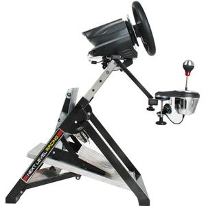 Next Level Racing Racing Wheel Stand - 55 cm Width x 80 cm Height x 64 cm Length