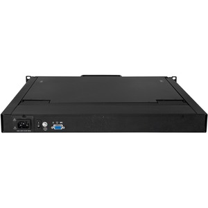 StarTech.com 1HE KVM Konsole für Server Racks - VGA KVM - 19 Zoll - 48,3 cm (19 Zoll) LCD - SXGA - 1280 x 1024 - 1 x VGA -