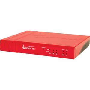 WatchGuard Firebox T15 Network Security/Firewall Appliance - 3 Port - 1000Base-T - Gigabit Ethernet - AES (256-bit), AES (