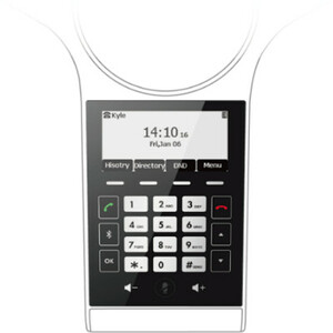 Yealink CP920 IP Conference Station - Corded/Cordless - Corded/Cordless - Bluetooth, Wi-Fi - Desktop - Classic Gray - VoIP