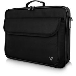V7 Essential CCK16-BLK-3E Tasche (Aktentasche) für 40,6 cm (16 Zoll) Notebook - Schwarz - 600D Polyester, 210D Polyester I