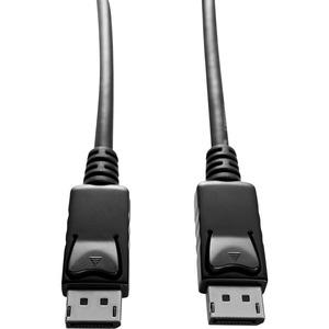 Câble A/V V7 V7DP2DP-6FT-BLK-1E - 2 m DisplayPort - pour Périphérique audio/vidéo - 1er bout: 1 x DisplayPort Mâle Audio/V