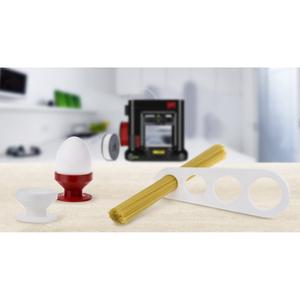 "XYZprinting da Vinci mini w+ 3D Printer - 5.91"" x 5.91"" x 5.91"" Build Size - Fused Filament Fabrication - Single Jet - 15."