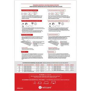 """Reticare Screen Protector - For 24"""" Widescreen LCD Monitor - 16:9 - Anti-glare 16:9 20.91INX 11.74IN ANTIGLARE"""