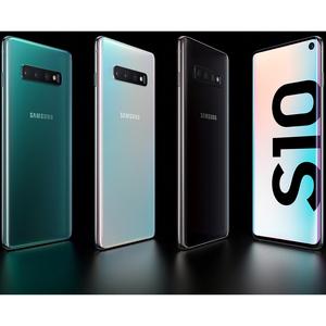 Samsung Galaxy S10 SM-G973F/DS 512 GB Smartphone - 15,5 cm (6,1 Zoll) AMOLED QHD+ 3040 x 1440 - Dual-Core 2,73 GHz + Corte
