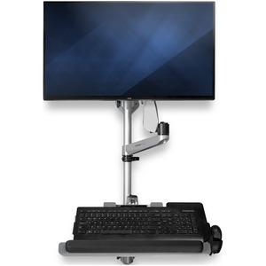 StarTech.com Wandhalterung für Monitor, Tastatur, Maus - Silber - TAA-konform - 1 Display(s) SupportedBildschirmgröße: 76,