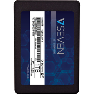 """V7 S V7S600025-1000 1 TB Solid State Drive - 2.5"""" Internal - SATA (SATA/600) - TAA Compliant - Notebook Device Supported -"""