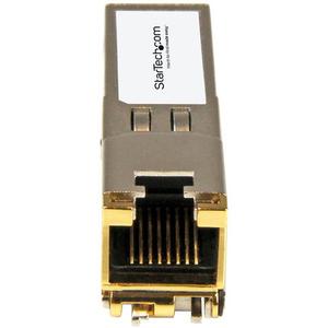 StarTech.com Extreme Networks 10050 kompatibles SFP Kupfer Modul - 10/100/1000Base-TX - für Datenvernetzung - Verdrilltes