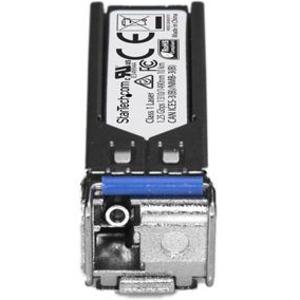StarTech.com SFPGE10KT3R5 SFP (Mini-GBIC) - 1 LC Buchse Simplex 1000BASE-BX10-U Netzwerk - für Optisches Netzwerk, Datenve