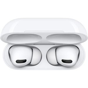 Apple AirPods Pro - Stereo - True Wireless - Bluetooth - Earbud - Binaural - In-ear - Noise Cancelling Microphone - Noise