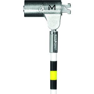 Câble de verrouillage MOBILIS Pour Ordinateur - 2 m Câble - Blanc - Acier Durci - Pour Ordinateur