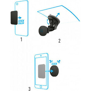 Montage Embarqué MOBILIS U.FIX pour Smartphone