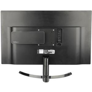 StarTech.com Wandhalterung für Docking Station, USB-Hub, Monitor - Schwarz - TAA-konform - 75 x 75, 100 x 100 VESA-Standard