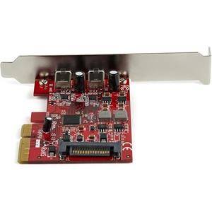StarTech.com StarTech.com PEXUSB312C3 2 Port PCIe USB 3.1-Karte - 2x USB C 3.1 Gen 2 10 Gbit / s - PCIe Gen 3 x4 - UASP-Su