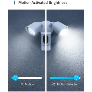 eufy Security Floodlight Camera, 1080p, Real-Time Response, No Monthly Fees, Secure Local Storage, 2500-Lumen Bright and A