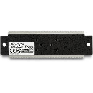 StarTech.com USB-Hub - USB Typ-A - Extern - TAA-konform - 4 Total USB Port(s) - 4 USB 2.0 Port(s)