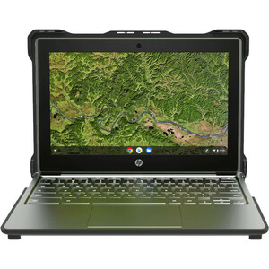 """MAXCases Extreme Shell-S for HP G8 EE Chromebook Clamshell 11.6"""" (Black) - For HP Chromebook - Textured - Black - Drop Res"""