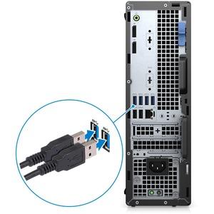 Desktop Computer Dell OptiPlex 5000 5080 - Intel Core i5 10. Generation i5-10500 Hexa-Core 3,10 GHz Prozessor - 8 GB RAM D
