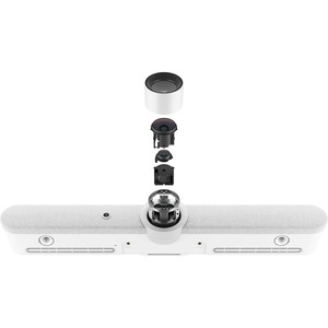 Logitech Rally Bar Video Conferencing Camera - 30 fps - White - USB 3.0 - 3840 x 2160 Video - 3x Digital Zoom - Microphone