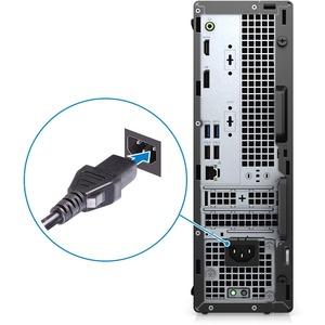 Dell OptiPlex 3000 3080 Desktop Computer - Intel Core i5 10th Gen i5-10505 Hexa-core (6 Core) 3.20 GHz - 8 GB RAM DDR4 SDR
