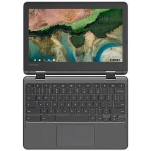 "Lenovo 300e Chromebook 2nd Gen 81MB001DUS 11.6"" Touchscreen 2 in 1 Chromebook - HD - 1366 x 768 - Intel Celeron N4020 Dual"