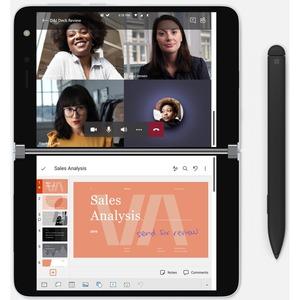 Microsoft Surface Duo 128 GB Smartphone - 20,6 cm (8,1 Zoll) AMOLED 2700 x 1800 - Kryo 485Single-Core 2,84 GHz + Kryo 485