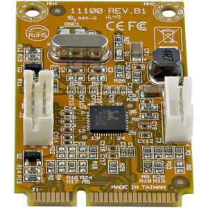 StarTech.com Mini PCI Express Gigabit Ethernet Network Adapter NIC Card - Add a Gigabit RJ45 port through a Mini PCI Expre