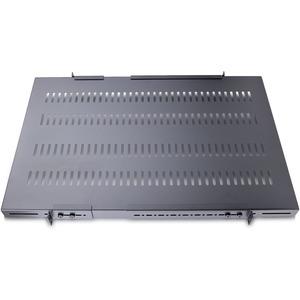 StarTech.com 1 HE verstellbarer Schwerlast Fachboden für Server Rack/ Schrank bis 113 Kg - belüftet - 113,40 kg Static/Sta