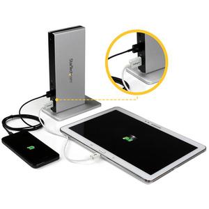StarTech.com Dual Monitor USB 3.0 Dockingstation - DVI Ausgang - Mac und Windows - DVI auf VGA & DVI Adapter - 6 x USB-Ans