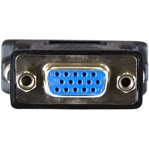 StarTech.com DVI auf VGA Adapter - DVI-I zu VGA Kabel Adapter St/Bu - Schwarz - 10er Pack - 1 x DVI-I Stecker Video - 1 x