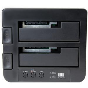 """StarTech.com USB 3.1 (10 Gbit/s) Duplizierer Dockingstation für 2,5"""" & 3,5"""" SATA SSD/HDD Laufwerke - Clone / Kopierstation"""