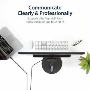 StarTech.com 1,83 m DisplayPort/Mini DisplayPort AV-Kabel für Audio-/Video-Gerät, Notebook, TV, Monitor, Projektor, HDTV,